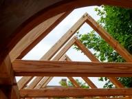 Dachstuhl Gartenhaus