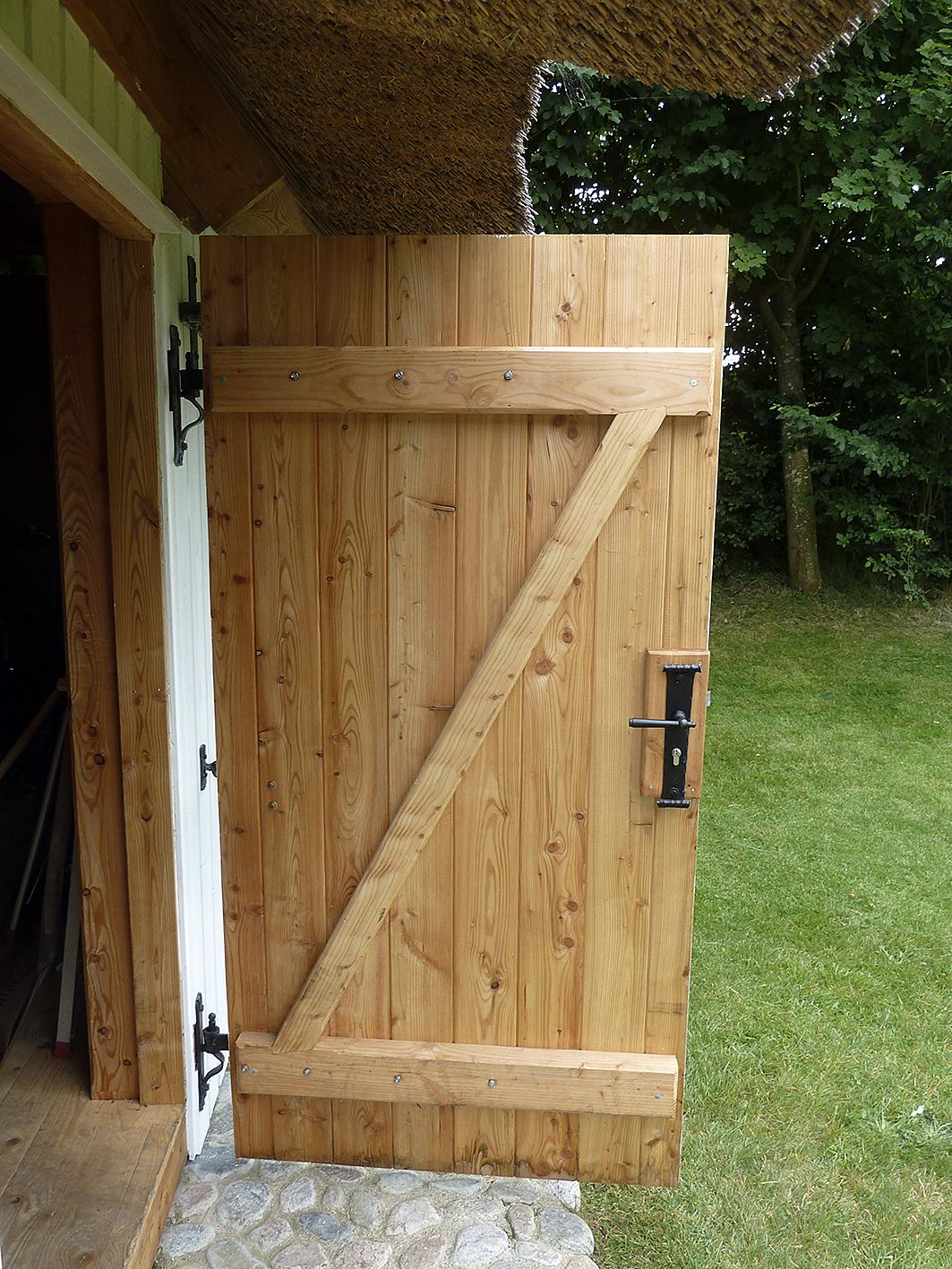 Favorit Holztür Für Gartenhaus   smartstore BA91